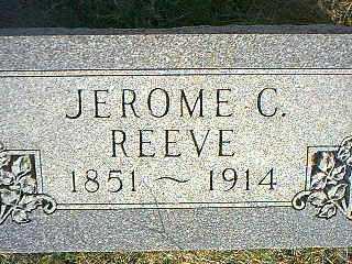 REEVE, JEROME C. - Taylor County, Iowa   JEROME C. REEVE