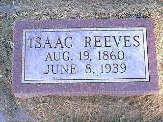 REEVES, ISAAC - Taylor County, Iowa | ISAAC REEVES