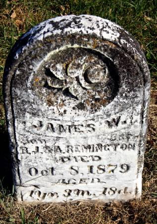 REMINGTON, JAMES W. - Taylor County, Iowa | JAMES W. REMINGTON