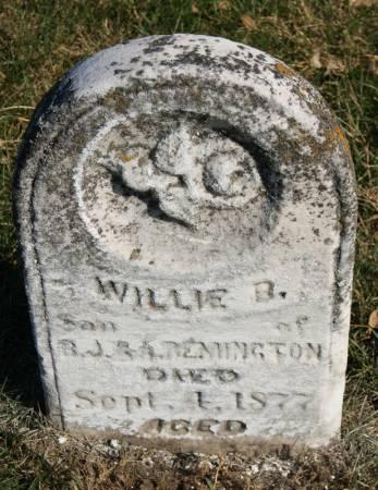 REMINGTON, WILLIE B. - Taylor County, Iowa | WILLIE B. REMINGTON