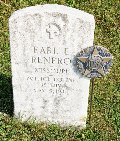 RENFRO, EARL EDWARD - Taylor County, Iowa | EARL EDWARD RENFRO