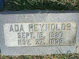REYNOLDS, ADA - Taylor County, Iowa | ADA REYNOLDS