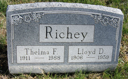 GARRETT RICHEY, THELMA FLORA - Taylor County, Iowa | THELMA FLORA GARRETT RICHEY