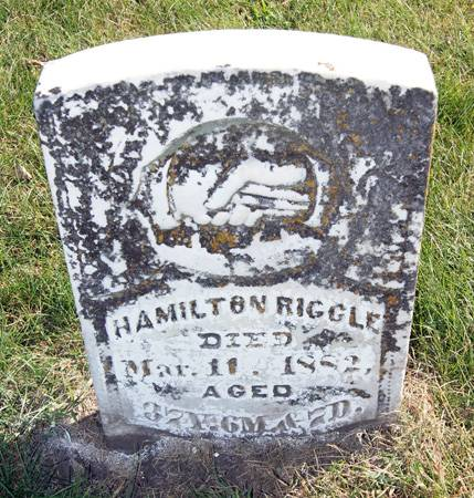 RIGGLE, HAMILTON - Taylor County, Iowa | HAMILTON RIGGLE