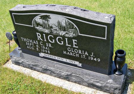 RIGGLE, THOMAS CHARLES, SR. - Taylor County, Iowa   THOMAS CHARLES, SR. RIGGLE