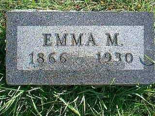 RILEY, EMMA M. - Taylor County, Iowa | EMMA M. RILEY