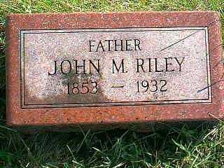 RILEY, JOHN M. - Taylor County, Iowa | JOHN M. RILEY