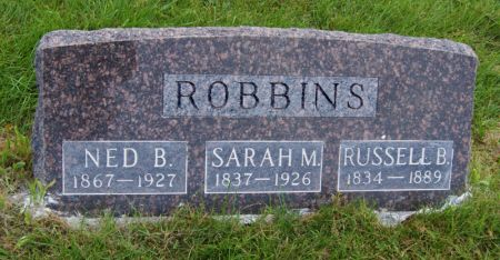 ROBBINS, SARAH MARIA - Taylor County, Iowa | SARAH MARIA ROBBINS