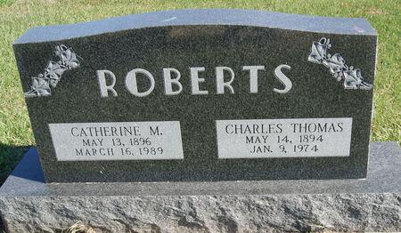 RICHARDSON ROBERTS, CATHERINE MAY - Taylor County, Iowa   CATHERINE MAY RICHARDSON ROBERTS