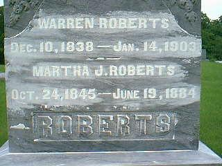 ROBERTS, MARTHA J. - Taylor County, Iowa | MARTHA J. ROBERTS
