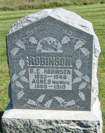 BANNON ROBINSON, AGNES MARGARET - Taylor County, Iowa   AGNES MARGARET BANNON ROBINSON