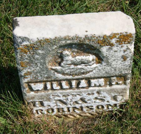 ROBINSON, WILLIAM L. - Taylor County, Iowa | WILLIAM L. ROBINSON