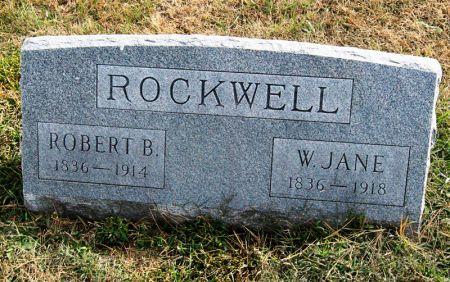 BALLOU ROCKWELL, WAITY JANE - Taylor County, Iowa   WAITY JANE BALLOU ROCKWELL