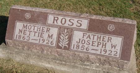 ROSS, NETTIE MAY - Taylor County, Iowa | NETTIE MAY ROSS