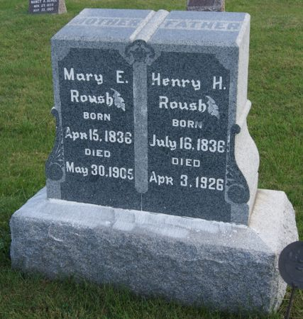 ROUSH, HENRY HARRIS - Taylor County, Iowa | HENRY HARRIS ROUSH