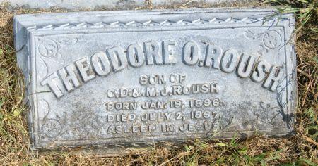 ROUSH, THEODORE O. - Taylor County, Iowa   THEODORE O. ROUSH