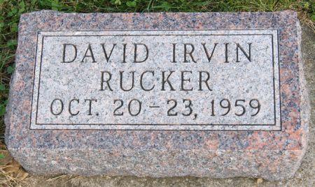 RUCKER, DAVID IRVIN - Taylor County, Iowa   DAVID IRVIN RUCKER