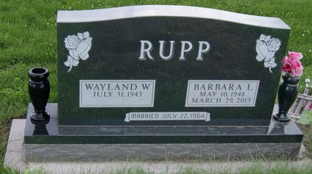 RUPP, BARBARA LOUISE - Taylor County, Iowa   BARBARA LOUISE RUPP