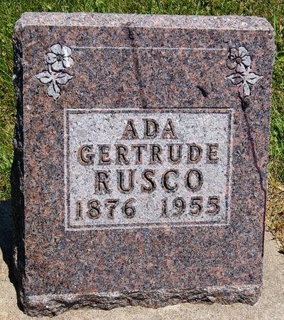 SICKELS RUSCO, ADA GERTRUDE - Taylor County, Iowa   ADA GERTRUDE SICKELS RUSCO