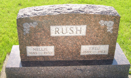 RUSH, NELLIE - Taylor County, Iowa | NELLIE RUSH