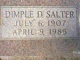 SALTER, DIMPLE - Taylor County, Iowa | DIMPLE SALTER