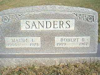 SANDERS, ROBERT - Taylor County, Iowa   ROBERT SANDERS