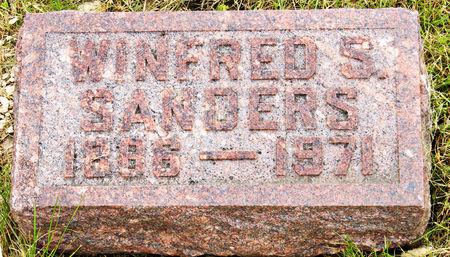 SANDERS, WINIFRED SARAH - Taylor County, Iowa | WINIFRED SARAH SANDERS