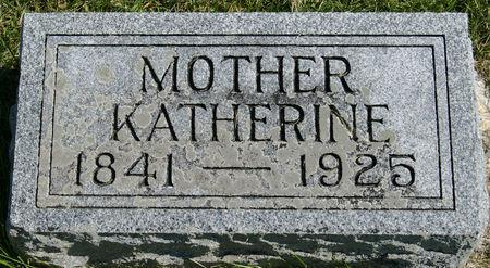 SAUSE, KATHERINE - Taylor County, Iowa   KATHERINE SAUSE