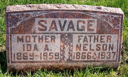 SAVAGE, IDA AGNES - Taylor County, Iowa | IDA AGNES SAVAGE