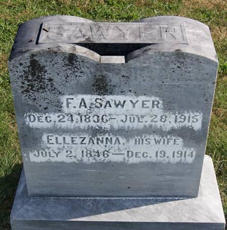 SAWYER, ELLEZANNA - Taylor County, Iowa | ELLEZANNA SAWYER