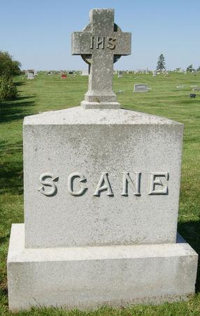 SCANE, WILLIAM ANDREW, FAMILY STONE - Taylor County, Iowa | WILLIAM ANDREW, FAMILY STONE SCANE