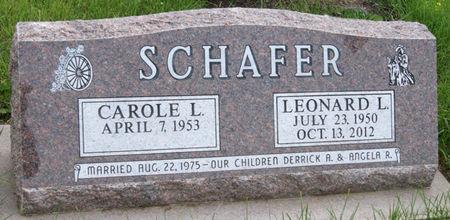 SCHAFER, LEONARD LEO - Taylor County, Iowa | LEONARD LEO SCHAFER
