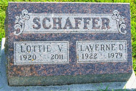 NELSON SCHAFFER, LOTTIE VERONICA - Taylor County, Iowa | LOTTIE VERONICA NELSON SCHAFFER
