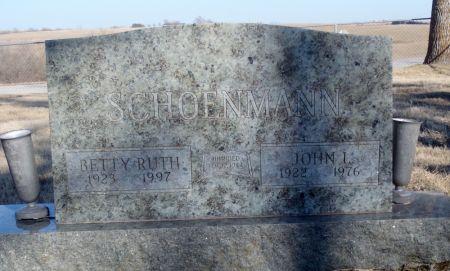SCHOENMAN, BETTY RUTH - Taylor County, Iowa | BETTY RUTH SCHOENMAN