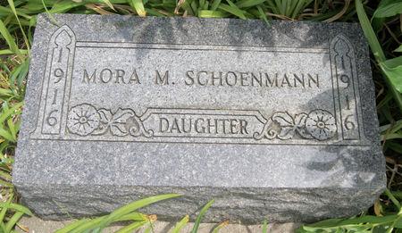 SCHOENMANN, MORA MAY - Taylor County, Iowa | MORA MAY SCHOENMANN