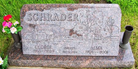 SCHRADER, ALMA - Taylor County, Iowa | ALMA SCHRADER
