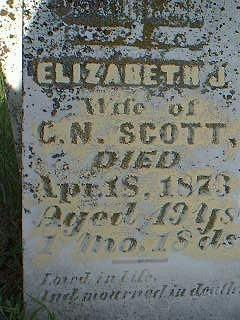 SCOTT, ELIZABETH - Taylor County, Iowa | ELIZABETH SCOTT