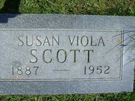 KNOTT SCOTT, SUSAN VIOLA - Taylor County, Iowa | SUSAN VIOLA KNOTT SCOTT