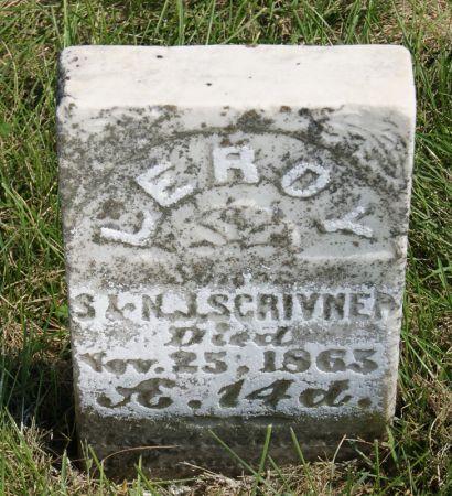 SCRIVNER, LEROY - Taylor County, Iowa | LEROY SCRIVNER