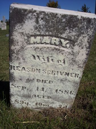 SEARS SCRIVNER, MARY - Taylor County, Iowa | MARY SEARS SCRIVNER
