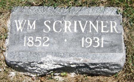 SCRIVNER, WILLIAM - Taylor County, Iowa | WILLIAM SCRIVNER
