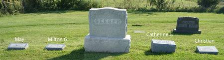 SEEGER, CHRISTIAN, FAMILY PLOT - Taylor County, Iowa   CHRISTIAN, FAMILY PLOT SEEGER