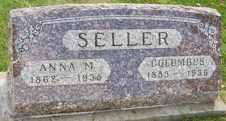 SELLER, ANNA MARY - Taylor County, Iowa | ANNA MARY SELLER