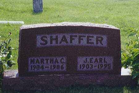 SHAFFER, JESSE EARL - Taylor County, Iowa   JESSE EARL SHAFFER