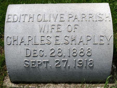 PARRISH SHAPLEY, EDITH OLIVE - Taylor County, Iowa | EDITH OLIVE PARRISH SHAPLEY
