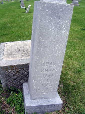 SHAW, ADAM - Taylor County, Iowa | ADAM SHAW