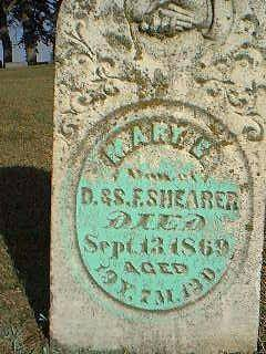 SHEARER, MARY - Taylor County, Iowa | MARY SHEARER