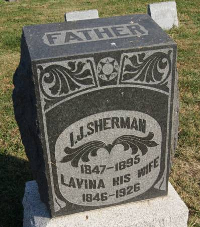 CLYMER SHERMAN, LAVINA - Taylor County, Iowa | LAVINA CLYMER SHERMAN