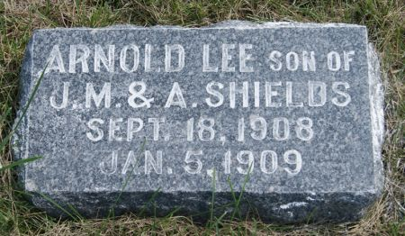 SHIELDS, ARNOLD LEE - Taylor County, Iowa | ARNOLD LEE SHIELDS