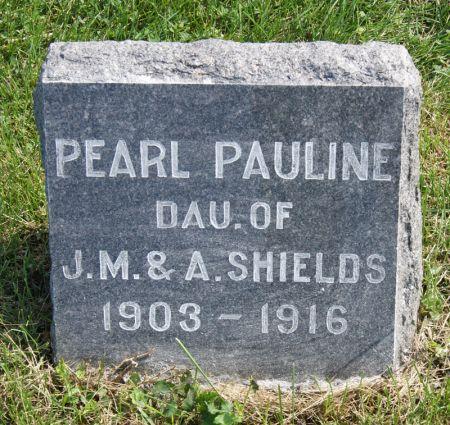 SHIELDS, PEARL PAULINE - Taylor County, Iowa | PEARL PAULINE SHIELDS